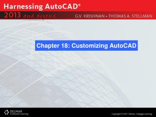 Chapter 18: Customizing AutoCAD