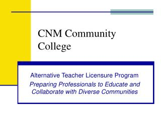 CNM Community College