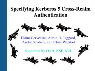 Specifying Kerberos 5 Cross-Realm Authentication