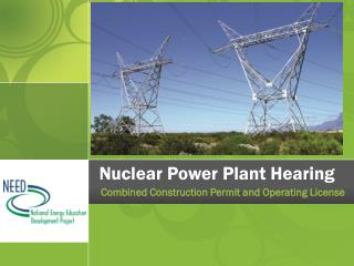 Nuclear Power Plant Hearing