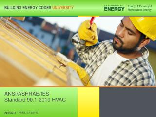 ANSI/ASHRAE/IES Standard 90.1-2010 HVAC