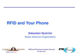 RFID and Your Phone