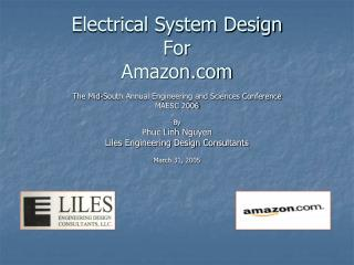 Electrical System Design For Amazon