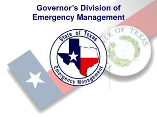 Governor's Division of  Emergency Management