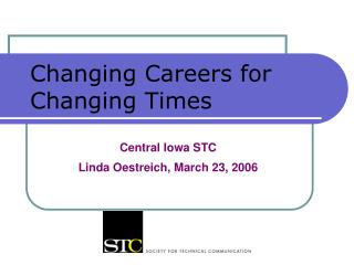 Changing Careers for Changing Times