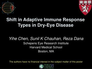 Shift in Adaptive Immune Response Types in Dry-Eye Disease