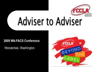 2009 WA-FACS Conference