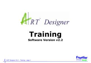 Training Software Version v2.2