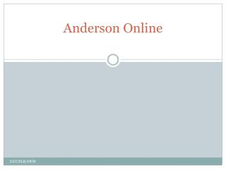 Anderson Online
