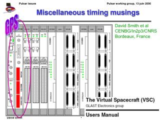 Miscellaneous timing musings