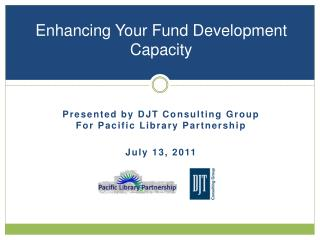 Enhancing Your Fund Development Capacity