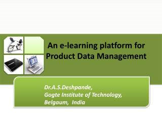 An e-learning platform for Product Data Management