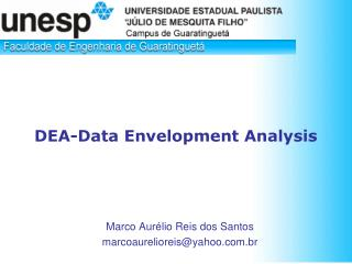 DEA-Data Envelopment Analysis