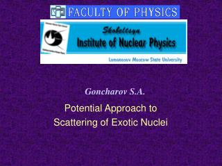 Potential Approach to  Scattering of Exotic Nuclei