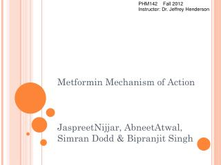 Metformin Mechanism of Action