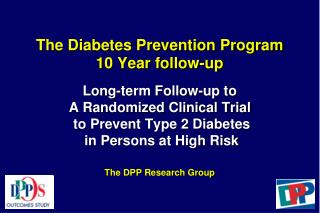 Diabetes Prevention Program Outcomes Study Clinics