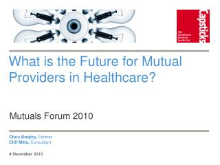 What is the Future for Mutual Providers in Healthcare?