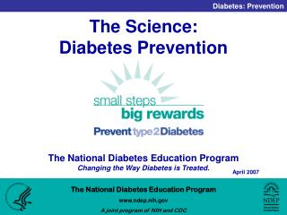 The Science:  Diabetes Prevention