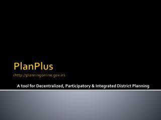 PlanPlus (planningonline)