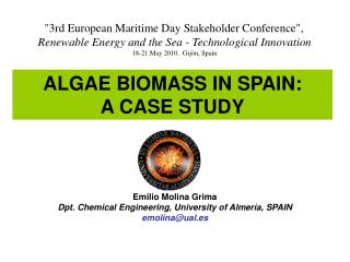 ALGAE BIOMASS IN SPAIN: A CASE STUDY