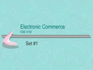 Electronic Commerce DSE 4150