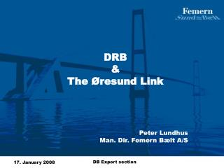 DRB  &  The Øresund Link