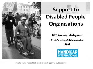 Support to Disabled People Organisations
