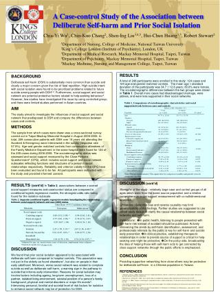 Social work case study presentation
