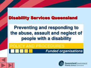 Disability Services Queensland