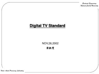 Digital TV Standard