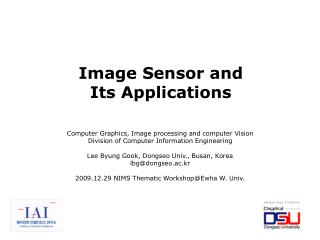 Computer Graphics, Image processing and computer Vision