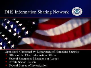 DHS Information Sharing Network
