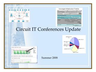 Circuit IT Conferences Update