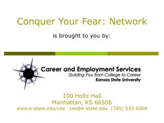 Conquer Your Fear: Network