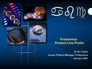 Proteomics:  Product Line Profile