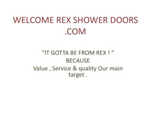 frameless shower doors | diy shower door