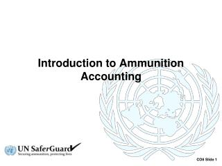 Introduction to Ammunition Accounting