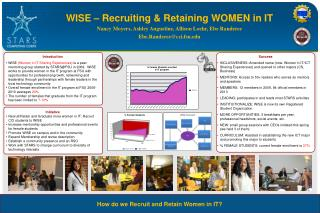 WISE – Recruiting & Retaining WOMEN in IT