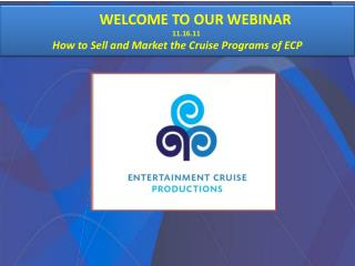WELCOME TO OUR WEBINAR                            11.16.11