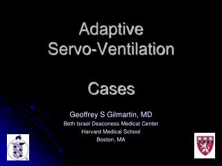 Adaptive  Servo-Ventilation Cases