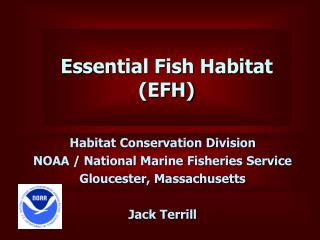 Essential Fish Habitat (EFH)