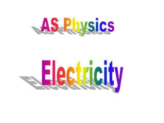 AS Physics