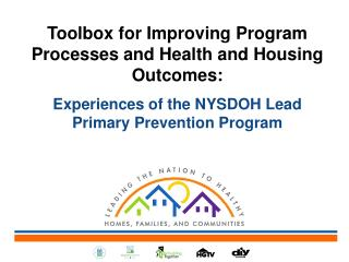 Toolbox for Improving Program Processes and Health and Housing Outcomes:
