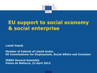 EU support to social economy & social enterprise