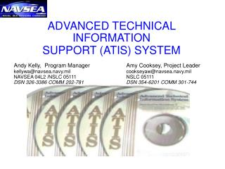 ADVANCED TECHNICAL INFORMATION  SUPPORT (ATIS) SYSTEM