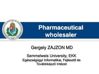 Pharmaceutical wholesaler