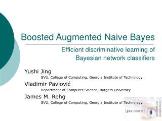 Yushi Jing  GVU, College of Computing, Georgia Institute of Technology Vladimir Pavlovi ć
