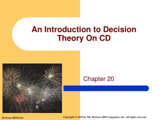 An Introduction to Decision Theory On CD