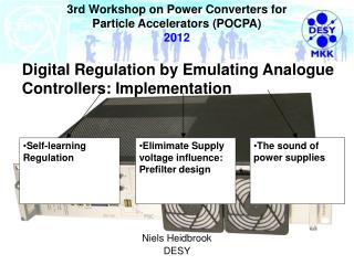 3rd Workshop on Power Converters for  Particle Accelerators (POCPA) 2012