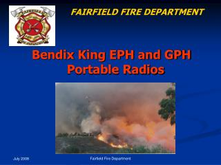 Bendix King EPH and GPH Portable Radios